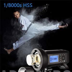 1/8000s High Speed Sync