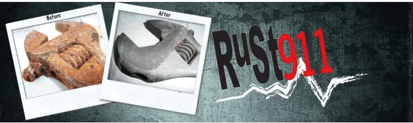 Powerful, economical Rust911 Rust Remover for Rust Removal Applications