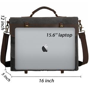 leather briefcase men