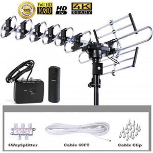 200 mile range outdoor tv antenna
