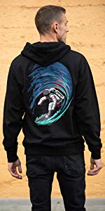 into the am graphic pullover hoodie for men