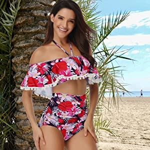 two piece swimsuits for women