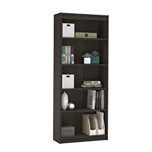 Bookcase in brown