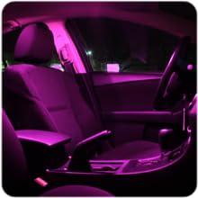 pink interior lights