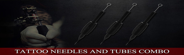tattoo needles and tubes combo
