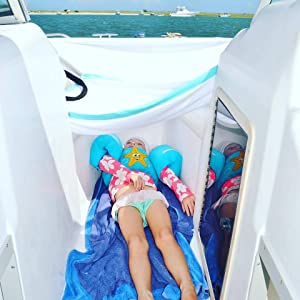 sun protection on boat