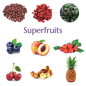 Herbs, Probiotics, Vegetables, Fruits, Sprouts, Whole Grasses, Seaweed, Antioxidants