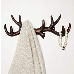 deer wall hooks