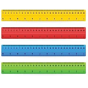 Trailmaker rulers in bulk wholesale cheap school supplies for teachers math crafts woodshop kids