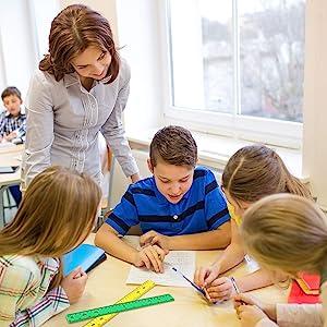 bulk rulers 12 inch for kids for school 6 inch school supplies for teacher for classroom bulk cheap