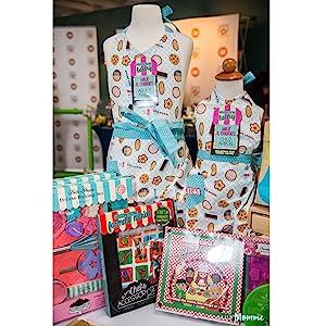 Handstand Kitchen Mother Daughter Apron Gift Set Real Cooking Baking Tools Kids Children Child