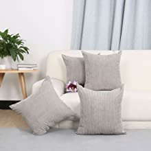 Throw Pillow Covers Sets