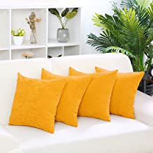 Yellow Pillowcase Covers