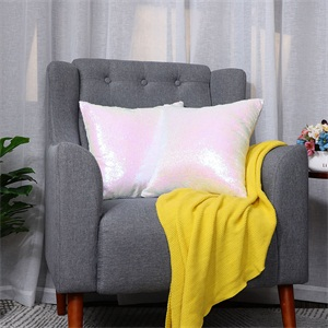 ,Shiny Sparkling Comfy Satin Cushion Covers