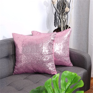 ,Shiny Sparkling Comfy Satin Cushion Covers