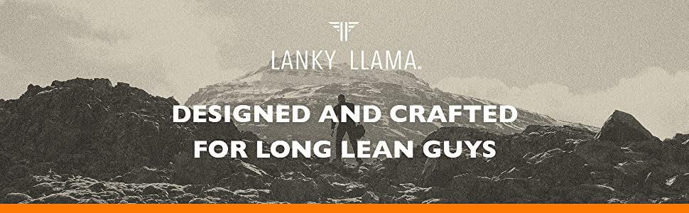 Lanky Llama – T-Shirts for Slim and Tall Slim Men
