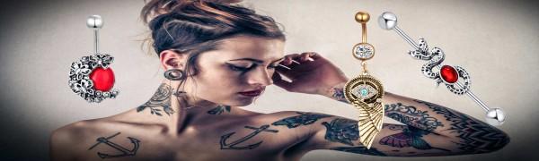 ipink fashion body jewelry