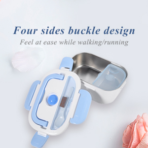 Stable four-sides buckle construction