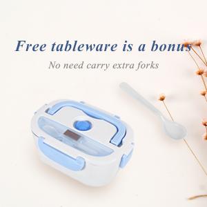 Free tableware is a bonus