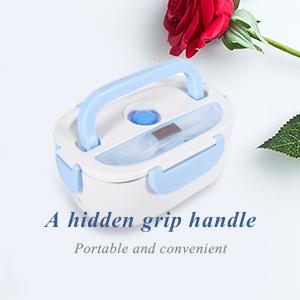 A hidden grip handle