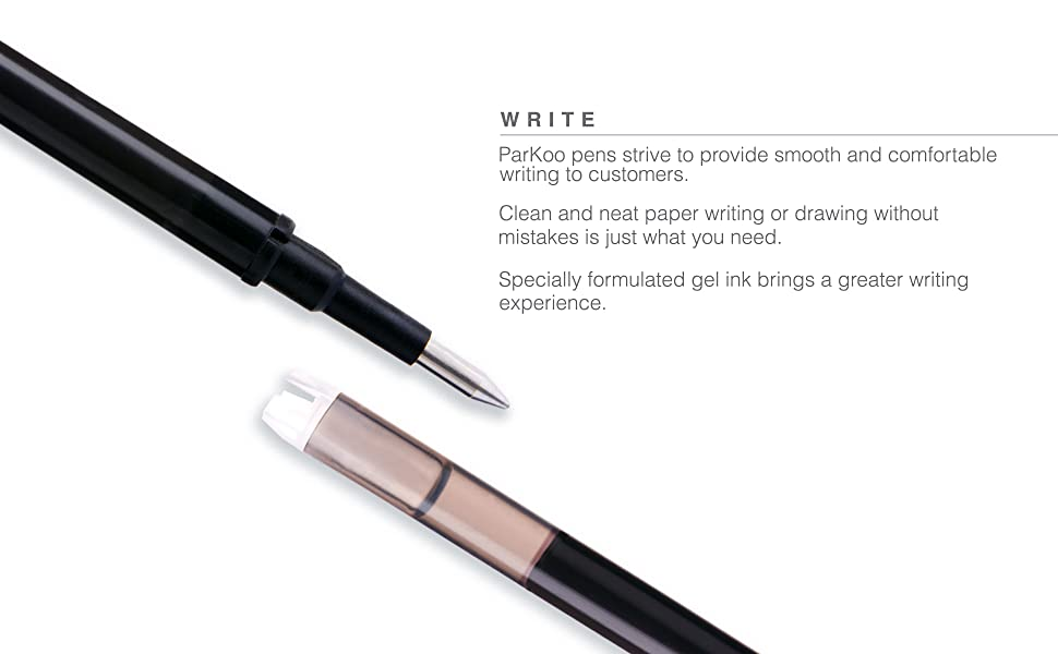 erasable gel pens