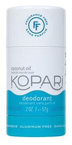 Kopari Fragrance Free Deodorant