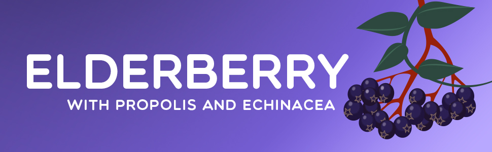 Elderberry with propolis and echinacea header