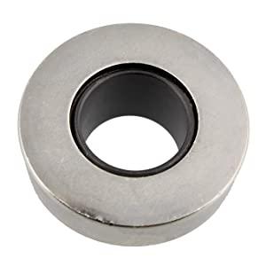 Shows flat bottom and rotating bearing