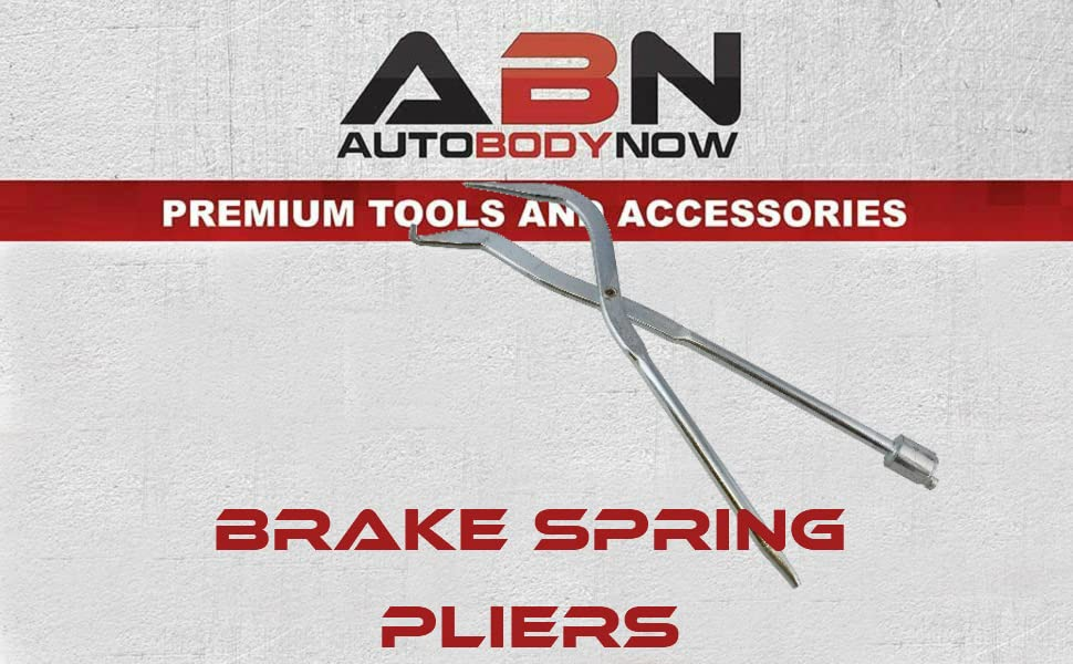 ABN Drum Brake Spring Pliers Remover and Installer Tool Autobodynow Premium Tools and Accessories