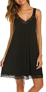 black chemise for women