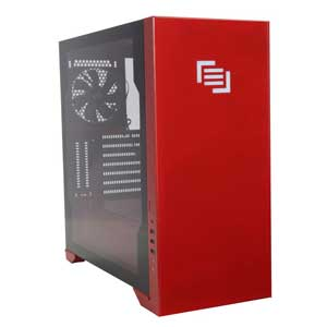 Maingear Vybe Chassis Red