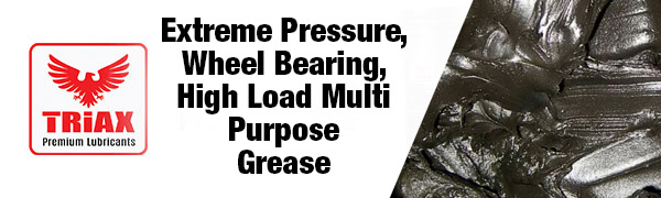 triax grease, wheel bearing grease, high temp grease, moly grease, grease