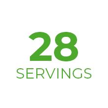 28 servings