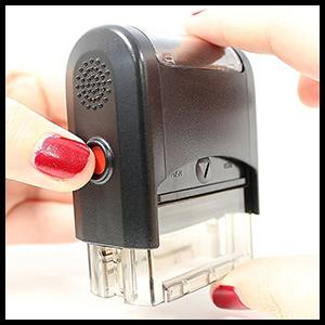 Push in stamp base