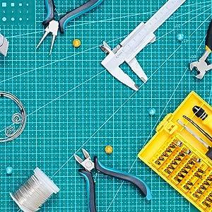 Copper Wire MM Inch Gauge Caliper Measurement