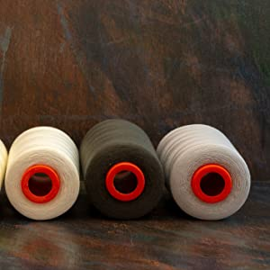 bulk All Purpose Sewing Thread for serger overlock machine hand sewing quilting upholstery