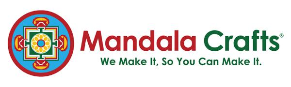 Mandala Crafts Loose Alphabet Letter Pendants