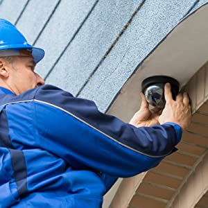Fake Dome CCTV surveillance security camera for indoor outdoor business home easy installation