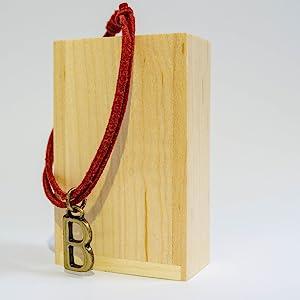 Letter B Alphabet Letter Charm Bracelet