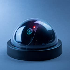 Fake Dome CCTV surveillance security camera for indoor outdoor home business