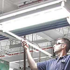 single end powered led tube light bulbs 4ft 48 inch 24w 6000k ballast bypass g13 base clear 110v