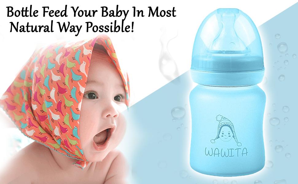 8 oz bottles baby for girls kids 4 bottle boys slow flow bpa free toddler