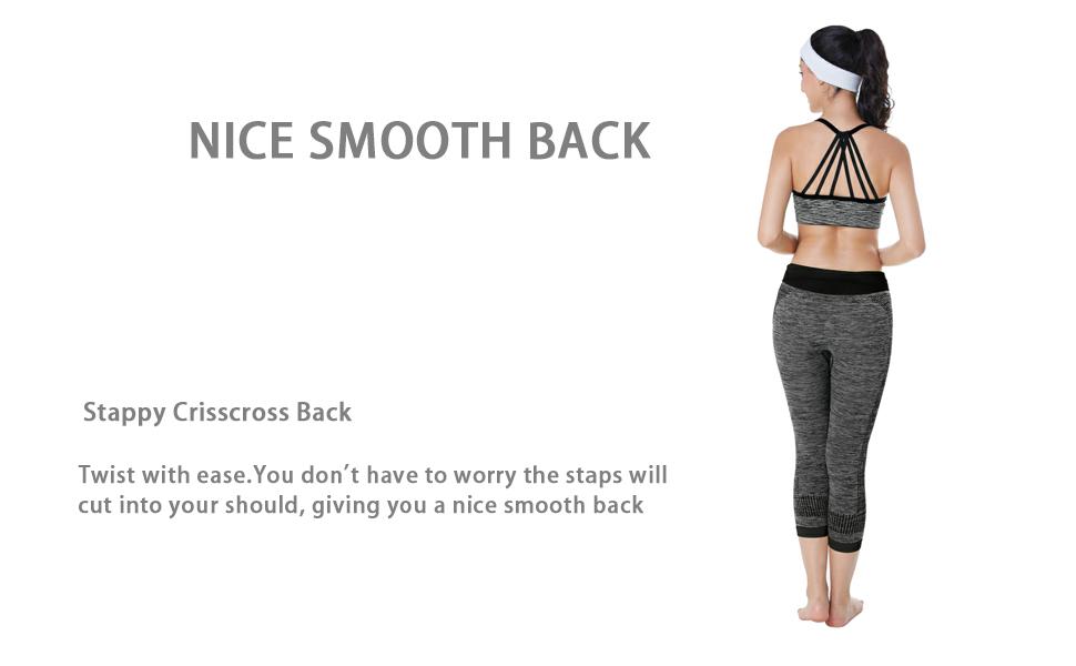 strappy crisscross back