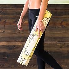 durable, yoga mat