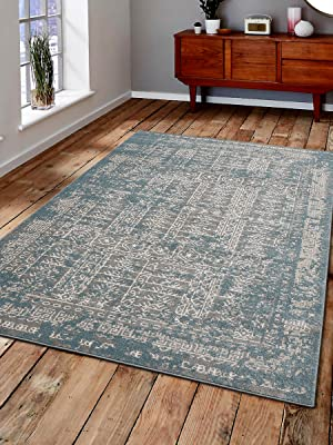 maria rugs,navy blue,navy,neutral colors,non skid backing,nuloom,rock n roll blue/gray area rug,blck