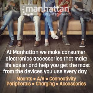 manhattan roducts qualiity electronics computer monitor tv audio visual usb hub adapters