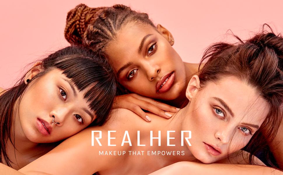 realher, realher makeup, makeup, makeup that empowers, empowering, cosmetics, realher cosmetics