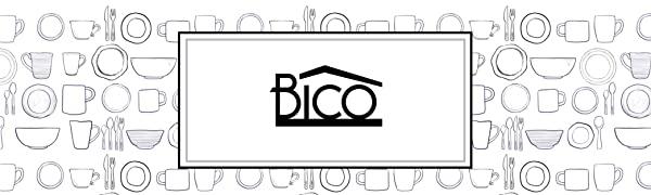 bico logo houseware kitchenware house home kitchen tabletops