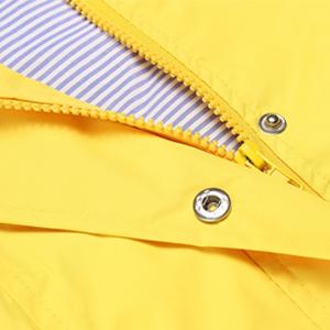 zipper&button closure