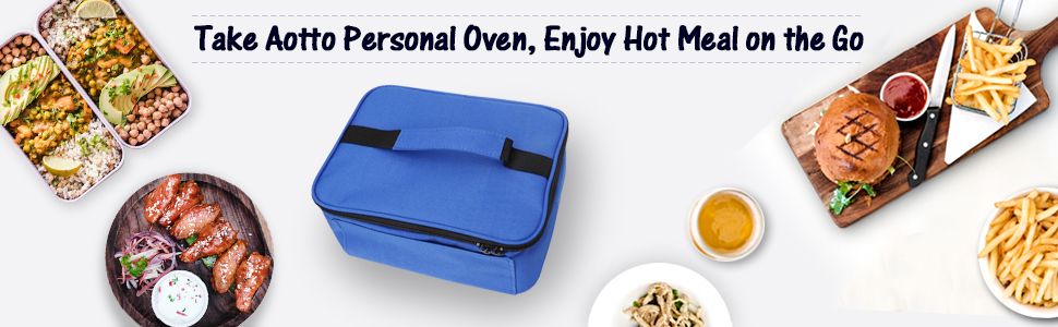 blue personal oven